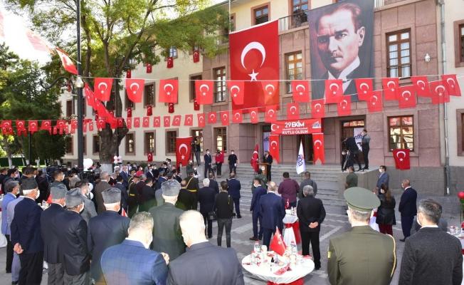 29 Ekim Malatya'da korona virüsün gölgesinde kutlandı