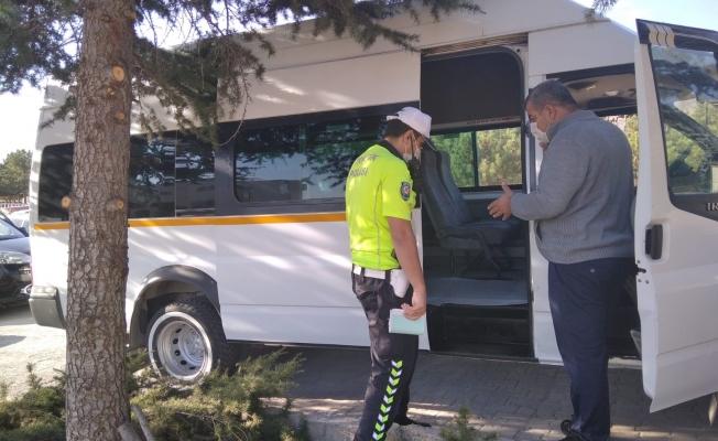 453 okul servis araç ve sürücüsü denetlendi