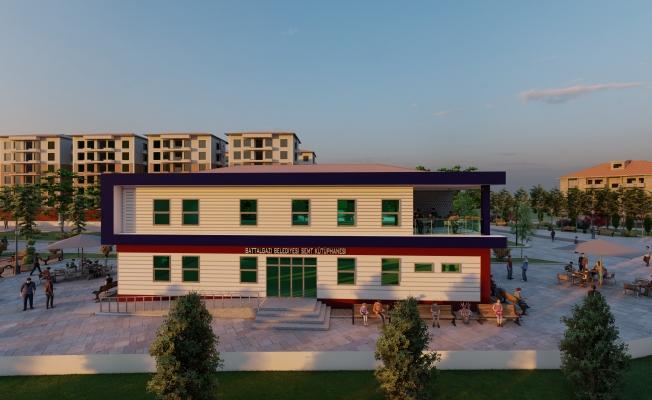 Battalgazi'ye Semt Kütüphanesi yapılıyor