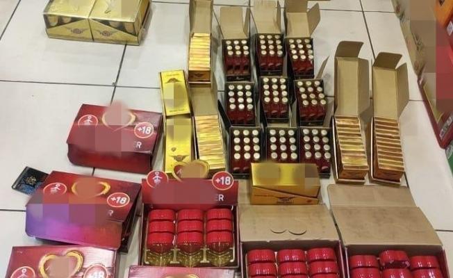 Malatya'da kara listede bulunan çikolata ve içecekler ele geçirildi