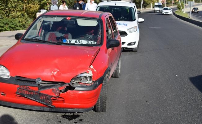 Malatya Çevre Yolu'nda kaza: 1 yaralı