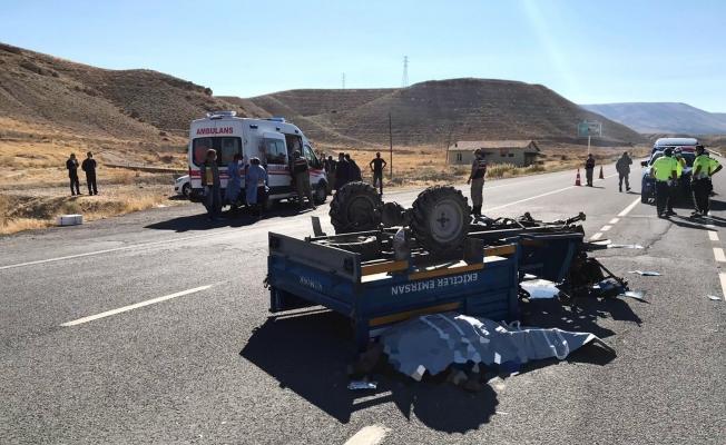 Malatya'da korkunç kaza! Çapa motoru devrildi: 1 ölü, 2 yaralı!