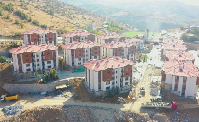 Pütürge'deki deprem konutları o tarihte teslim edilecek