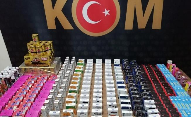 Malatya'da cinsel içerikli kaçak ürünler ele geçirildi
