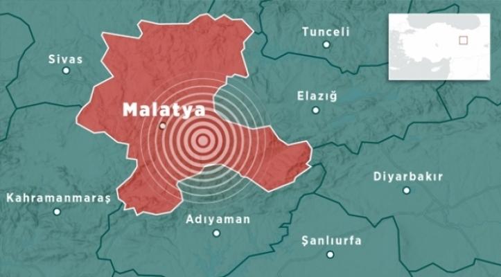 Malatya Uluköy'de korkutan deprem! 4,7!