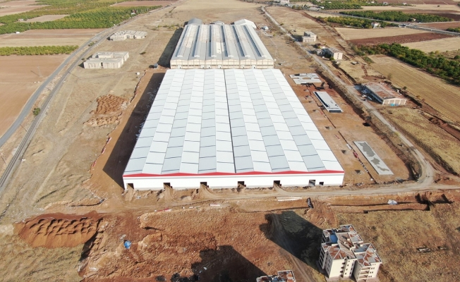 Türkiye'nin en büyük çadır ve tekstil fabrikası Malatya'ya yapılıyor