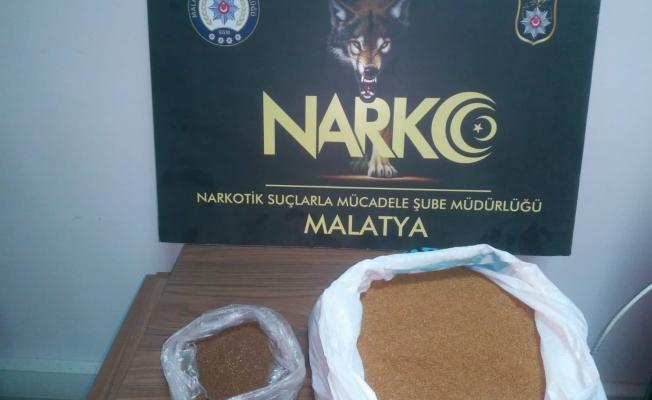 Uyuşturucu operasyonu: 2 kilo 124 gram sentetik kannabinoid ele geçirildi