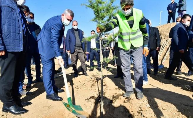 Yeşilyurt'ta hizmete girecek millet bahçeleri örnek olacak