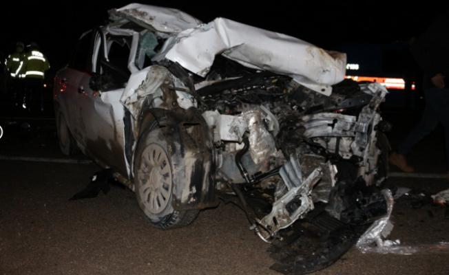 Malatya'da feci kaza: 3 ölü, 1 yaralı