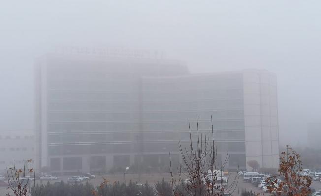 Malatya'da göz gözü görmüyor! Kentte yoğun sis etkili oluyor
