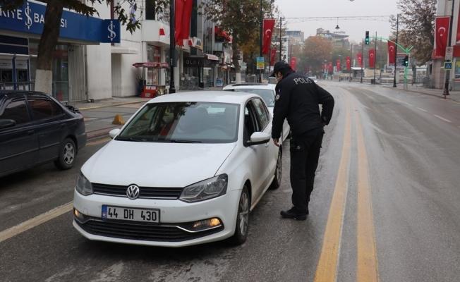 Malatya'da 80 kişiye sokağa çıkma cezası!