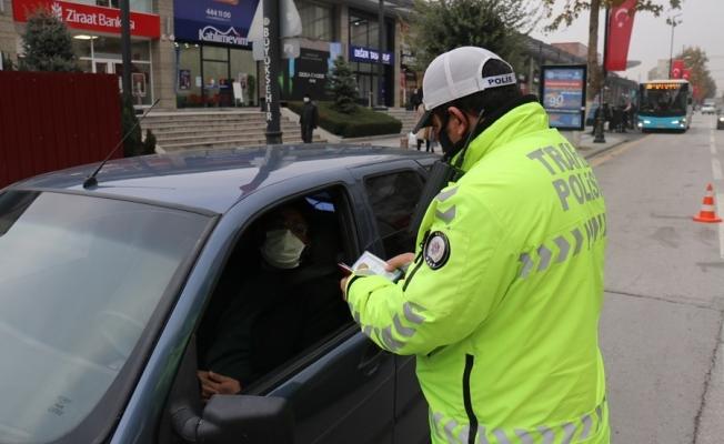 Malatya'da kısıtlamada sokağa çıkan 171 kişiye ceza kesildi