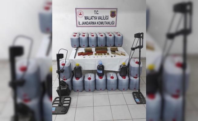 Malatya'da sahte içki operasyonu: 481 litre ele geçti