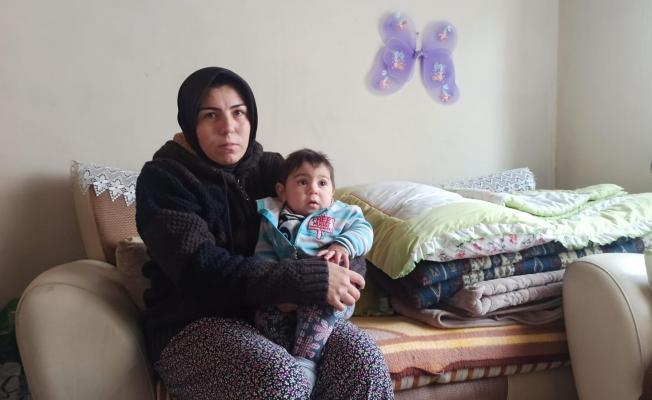 Eşi cezaevinde, çocuğu hasta... Zor durumdaki kadın yardım bekliyor!