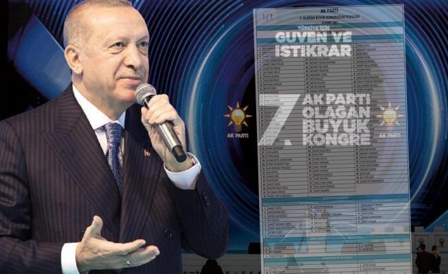 İşte AK Parti'nin yeni MKYK listesi!