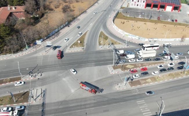 İtfaiyenin güzergahındaki trafik lambaları yeşil yanacak
