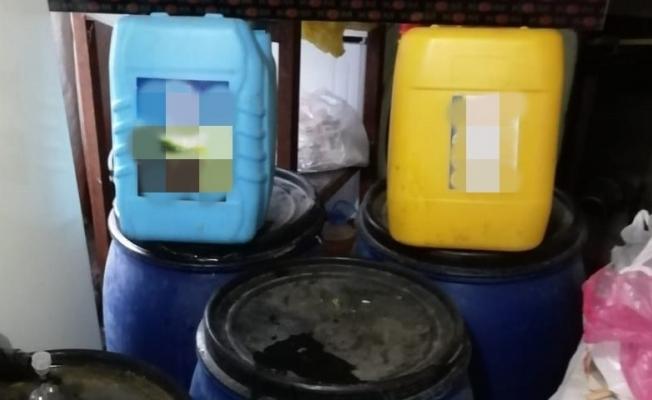 Malatya'da 400 litre kaçak içki ele geçirildi