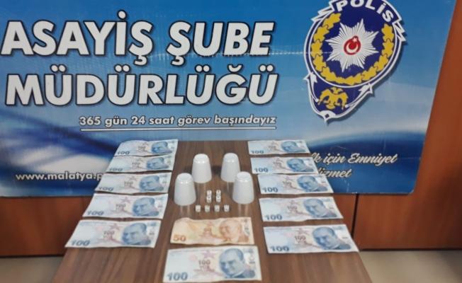 Malatya'da kumar operasyonu: 4 şahsa ceza