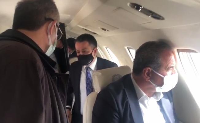 Bakanın arızalanan uçağı Malatya'ya acil iniş yaptı!