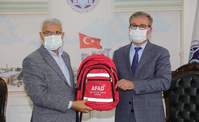 Başkan Güder, AFAD Müdürü Türker'i konuk etti