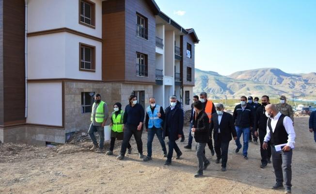 Deprem konutları tamamlanıyor