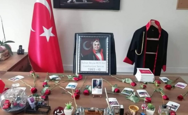 Doğanşehir'de koronadan ölen savcı, adliye çalışanlarını yasa boğdu