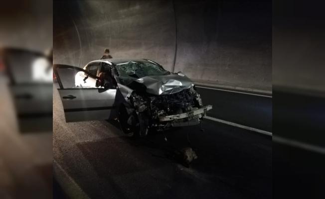 Erkenek Tüneli'nde feci kaza: 1 ölü