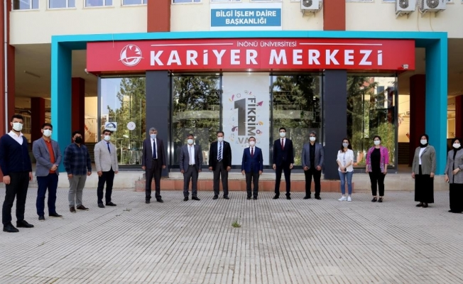 İnönü Üniversitesi Kariyer Merkezi kuruldu