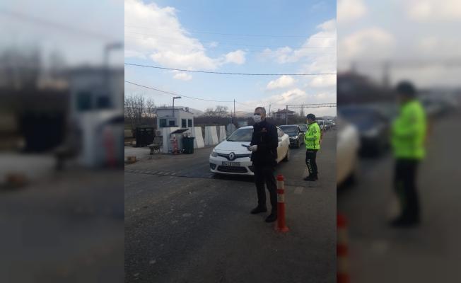 Kısıtlamaya uymayanlar polisten kaçamadı