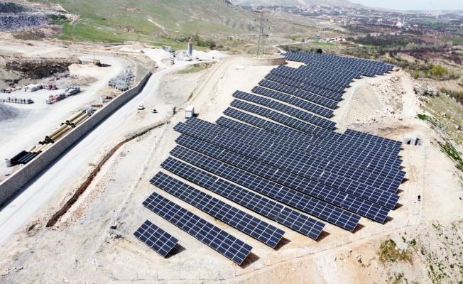 Bulgurlu Mahallesi'ne 7.5 milyonluk yatırım! Güneş enerji santrali kuruldu