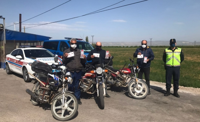 Jandarma'dan Trafik Haftası etkinliği