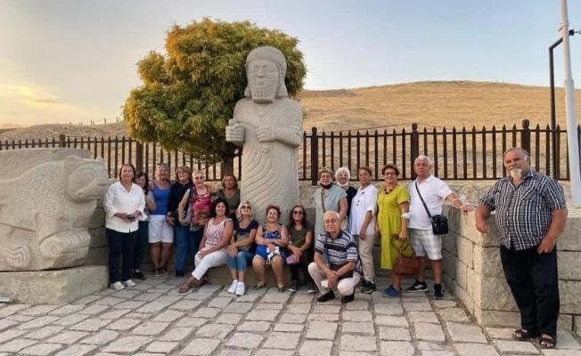 Arslantepe'yi ziyaret eden turist sayısı arttı