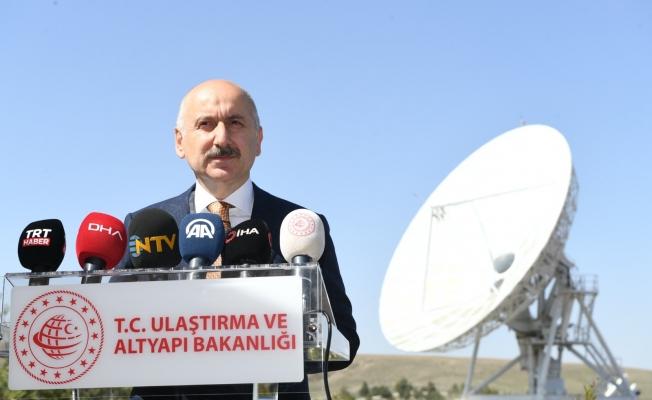 """Bakan Karaismailoğlu açıkladı: Türksat 6A uydusunu """"Space X"""" fırlatacak..."""