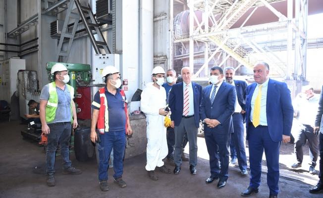 Başkan Gürkan'dan maden ziyereti!