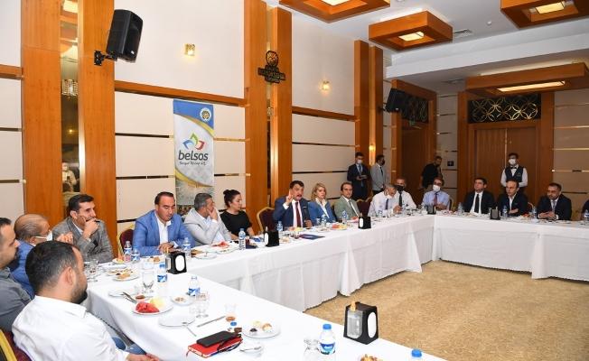 Başkan Gürkan, STK temsilcileriyle buluştu