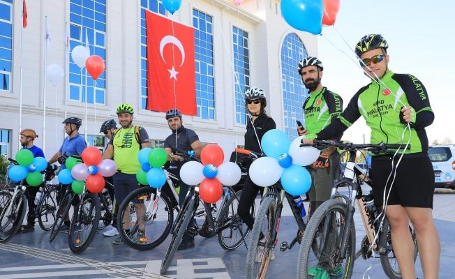 Battalgazi'de bisiklet turu