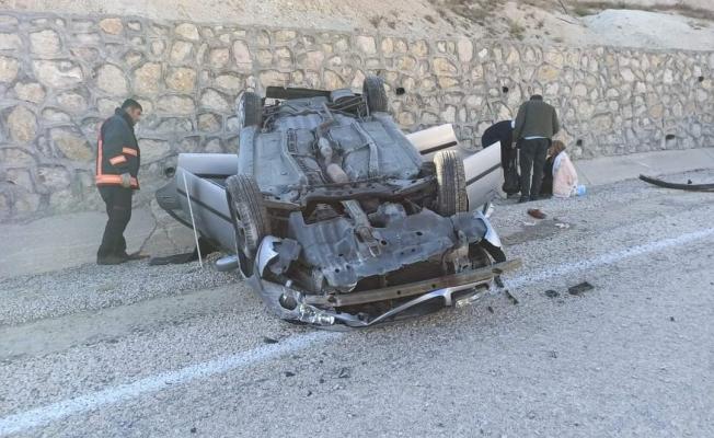 Darende'de trafik kazası: 3 yaralı