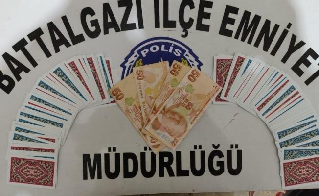 Malatya'da kumar baskını