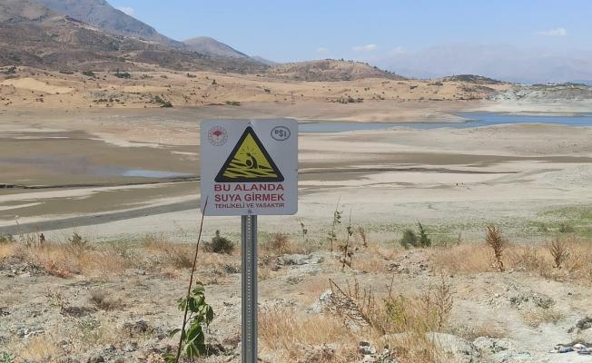 Sürgü barajında kuraklık alarmı!