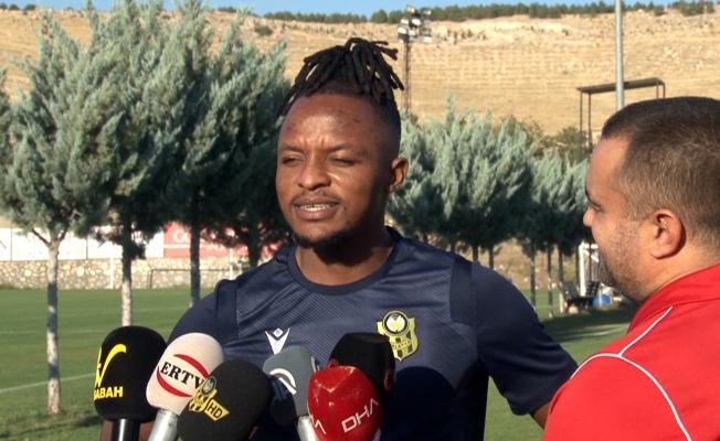 Walter Bwalya: Yeni Malatyaspor'da olduğum için mutluyum