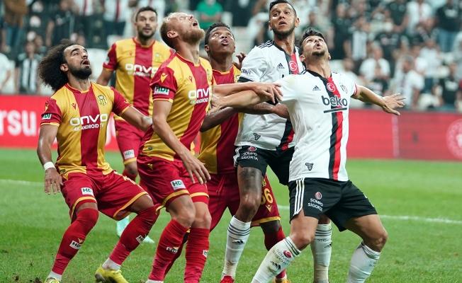 Yeni Malatyaspor Beşiktaş'a 3-0 mağlup oldu