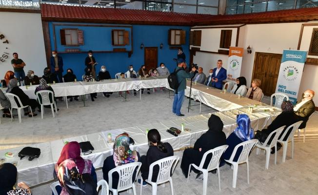 Çınar'dan, Çilesiz Semt Pazarı ve Yaşam Merkezi istişare toplantısı