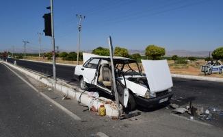 3 otomobilin karıştığı kazada 3 yaralı!