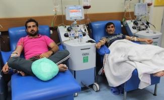 TÖTM'de aynı anda 7 hastaya kök hücre nakli yapıldı