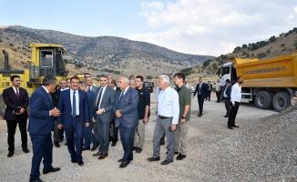 Başkan Gürkan'dan Doğanyol'a ziyaret!