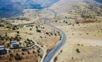 İkizce-Seyituşağı-Atalar-Kadiruşağı grup yolu asfaltlanıyor