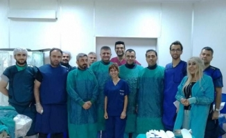 Malatya Eğitim ve Araştırma Hastanesinde bir ilk daha!..