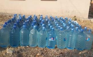 Malatya'da 61 ton kaçak içki ele geçirildi