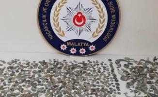 Malatya'da tarihi eser kaçakçılığı