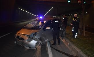Malatya'da korkunç kaza! Ağaçları devirip karşı şeride geçti...